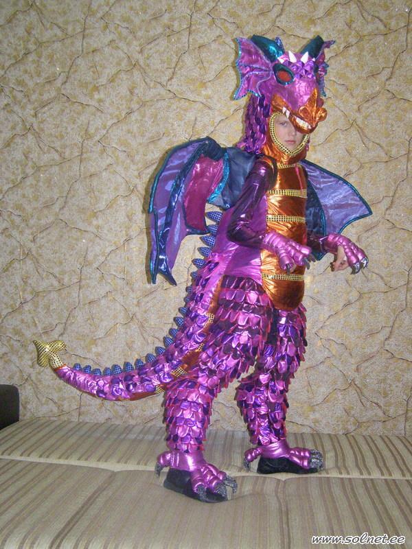 Костюм на новый год дракона