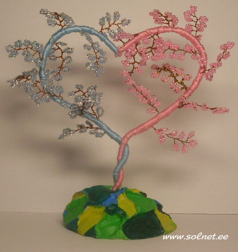 дерево любви из бисера схемы - Лучшие схемы и описания для всех.
