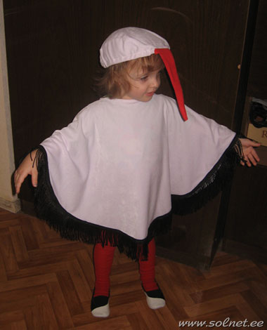 Детский костюм аиста своими руками