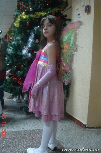 Как сшить костюм флоры дочке