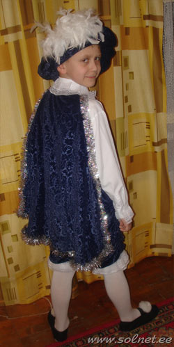 Как сделать костюм пажа