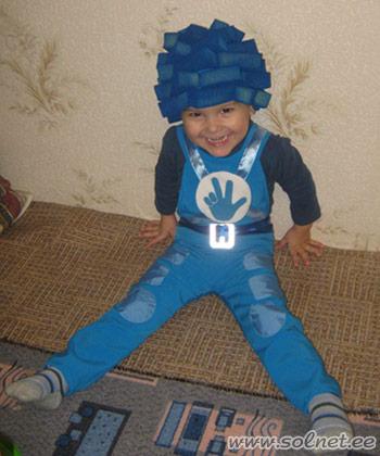 Выкройка костюма человек-паук