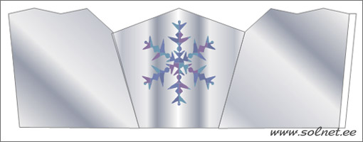 Как сделать корону для снежной королевы своими руками фото