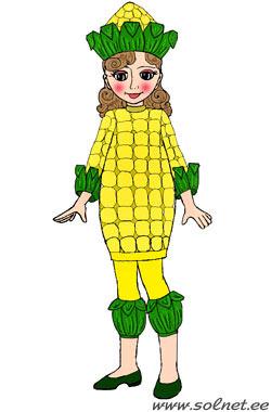 костюм кукурузы своими руками фото
