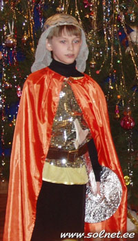 Новогодний костюм кот в сапогах своими руками