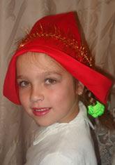 Шапочка для красная шапочка своими руками
