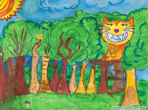 Конкурс детских рисунков день рождения
