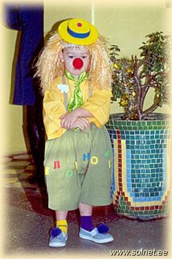 Клоун есть описание костюма