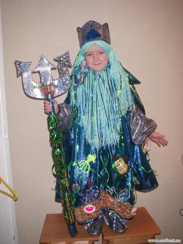 Костюм нептуна своими руками из подручных
