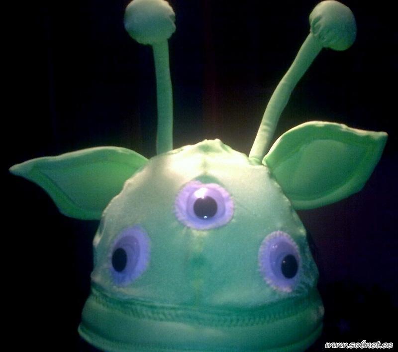 Новогодний костюм инопланетянин своими руками