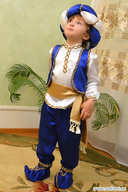 как сшить новогодний костюм для мальчика султана