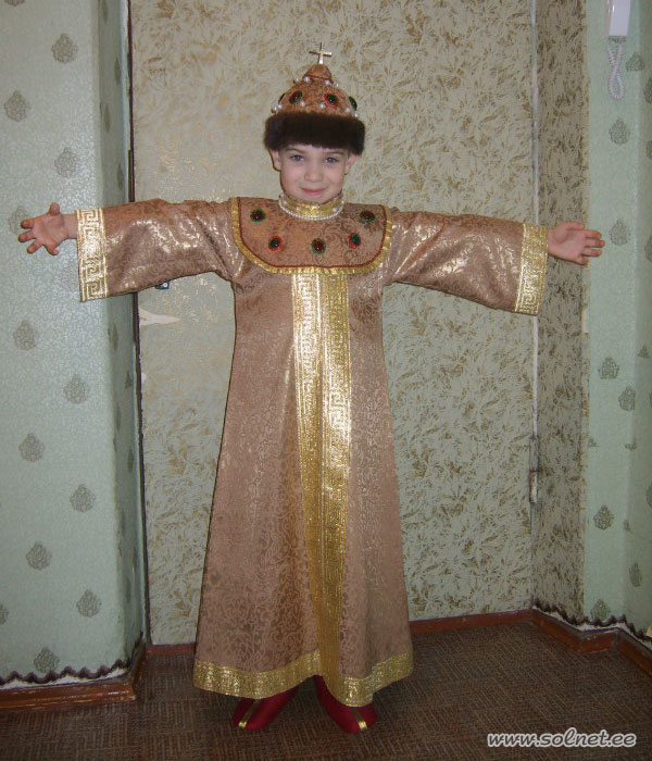 Костюм царя салтана своими руками