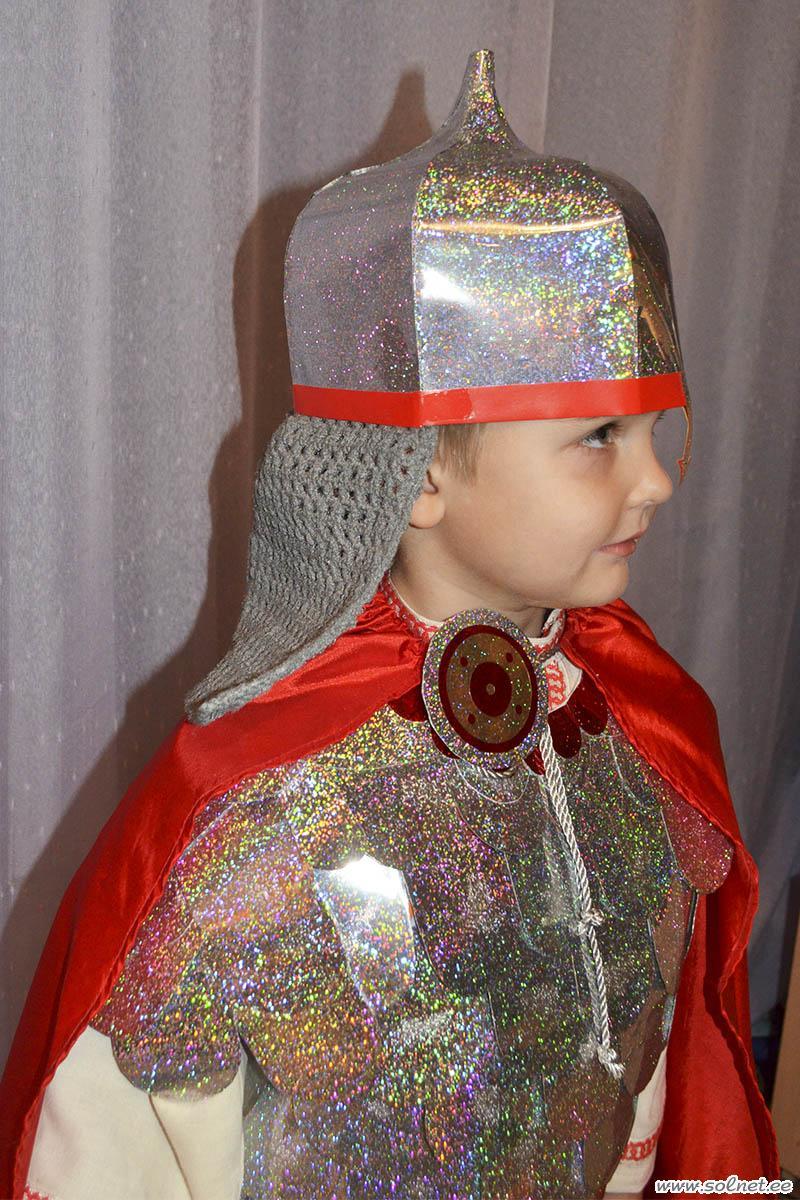 Шлем костюм богатыря