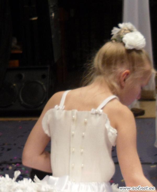 Бумажная балерина. Как сшить карнавальный костюм. Детский