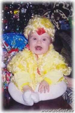 новогодний костюм цыпленка