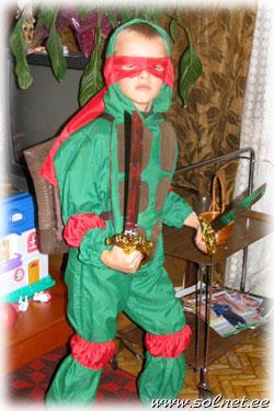 детский карнавальный костюм ниндзя купить
