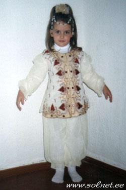 Детский новогодний костюм шахерезады