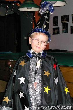 Как сделать костюм звездочета