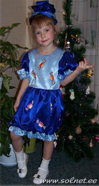 Как сделать новогодний костюм конфетка фото 169