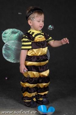 Как сделать костюм шмеля для мальчика своими руками