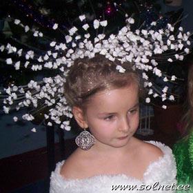 Новогодние головные уборы своими руками фото