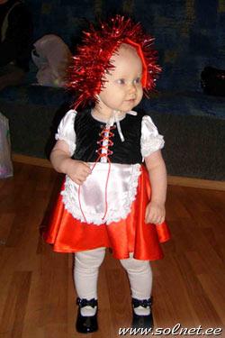 Новогодний костюм красная шапочка фото своими руками