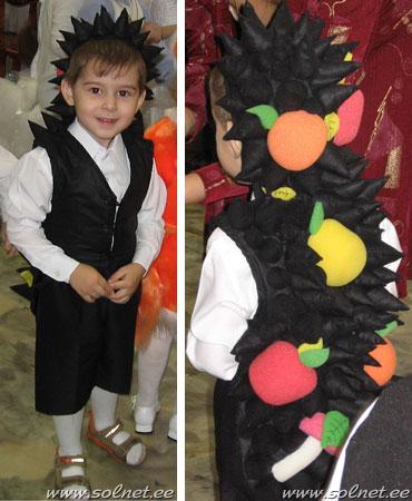 Костюмы для праздника осени для мальчика