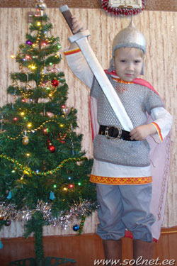 Новогодние костюмы своими руками на мальчика фото