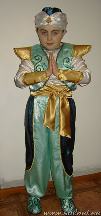 Аладдин творческий конкурс карнавальный костюм 2009 номинация