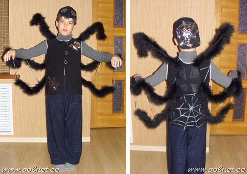 Как в домашних условиях сшить костюм человека паука