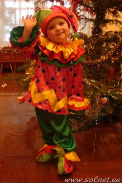 Сшить карнавальный костюм петрушки