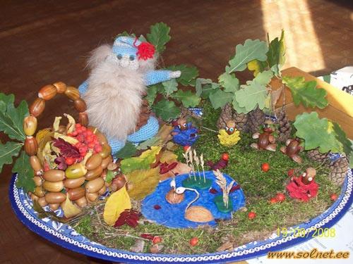Поделки к осени в детский сад своими руками