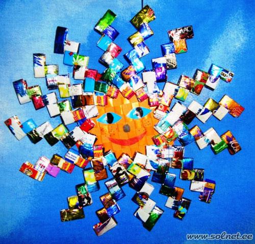 19 разноцветные лучики