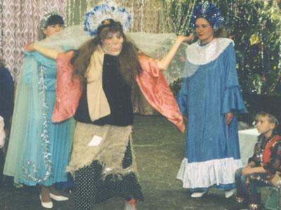 Танец главной Бабы-Яги