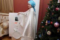 Снегурочка раздевается для мальчика фото 581-163