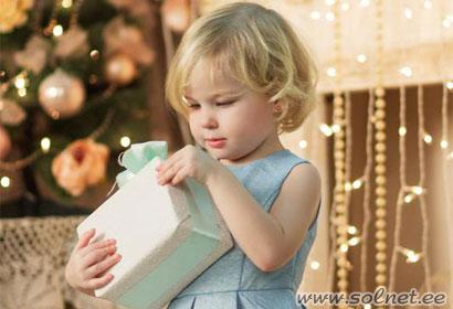Стихи о детских подарках