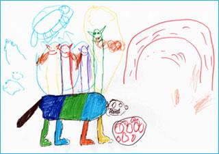 Язык детского рисунка