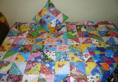 Стеганое одеяло для детей сшить фото 486