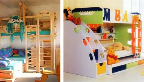 Детские кровати для разнополых детей 48