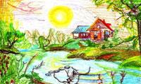 Конкурс рисунков «Лето, ах лето!»
