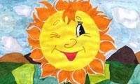 Три уголька и Солнце