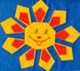 Бумажное солнышко