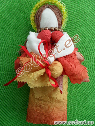 Кукла на зачатие своими руками