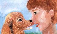 Мечтаю по отношению собаке. Стихи детей